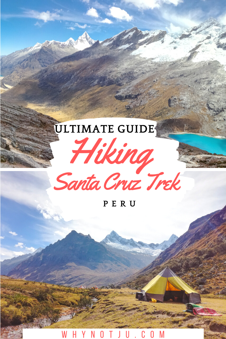 The Santa Cruz Trek is the most popular trek in the Cordillera Blanca, but arguably also the most beautiful. Prepare for a hike of a lifetime! Hiking the Santa Cruz trek should be on everyones Peru Itinerary
