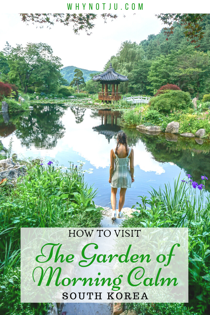 The Garden of Morning Calm is a big botanical garden outside Seoul, South Korea. It has various sections, all themed differently, beautiful flowers, plants, ponds, paths and trees. The garden is located in the Gapyeong district east of Seoul.  This is the perfect place to go to get away from hectic Seoul for a daytrip!